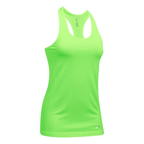 Womens Under Armour Threadborne Seamless Heather Racer Sleeveless & Tank Tops Technical Tops - ...
