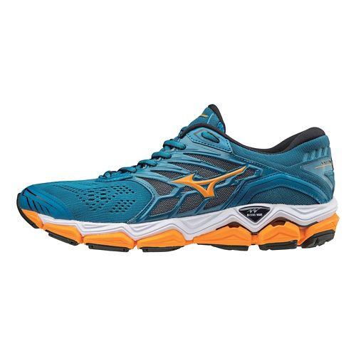 Mens Mizuno Wave Horizon 2 Running Shoe - Blue Sapphire 10