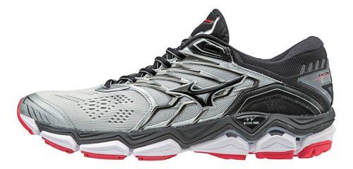 Mens Mizuno Wave Horizon 2 Running Shoe - Silver/Black 11.5