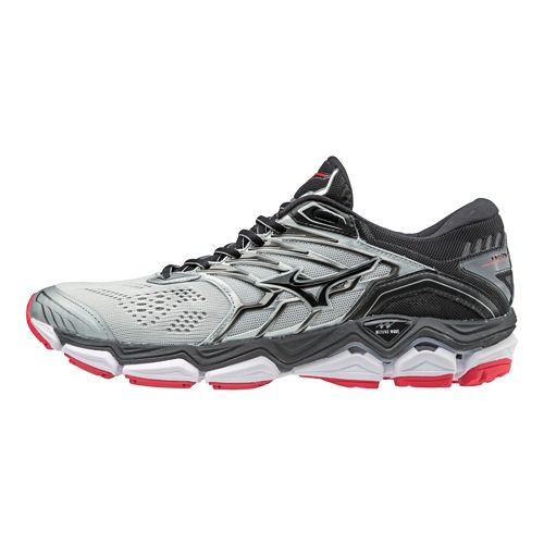 Mens Mizuno Wave Horizon 2 Running Shoe - Silver/Black 8.5