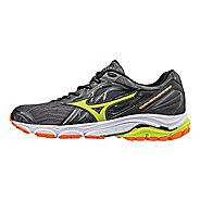 Mens Mizuno Wave Inspire 14 Running Shoe - Magnet/Lime 7.5