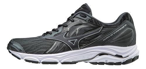 Mens Mizuno Wave Inspire 14 Running Shoe - Black 12.5