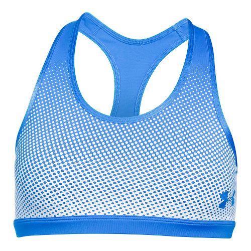 Under Armour Girls Reversible Sports Bras - Mako Blue YM