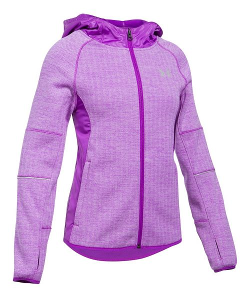 Under Armour Swacket Cold Weather Jackets - Purple Rave YS