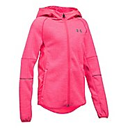 Under Armour Swacket Cold Weather Jackets - Penta Pink YM