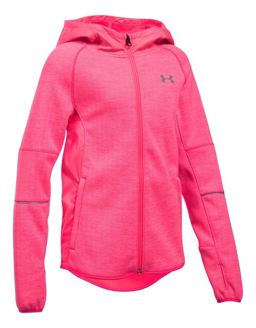 Under Armour Swacket Cold Weather Jackets - Penta Pink YXS