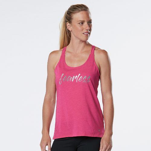 Womens R-Gear Fearless Graphic Sleeveless & Tank Technical Tops - Heather Dynamo Pink XL