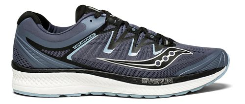 Mens Saucony Triumph ISO 4 Running Shoe - Grey/Black 13