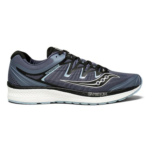 Mens Saucony Triumph ISO 4 Running Shoe - Grey/Black 12