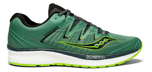 Mens Saucony Triumph ISO 4 Running Shoe - Green 12.5