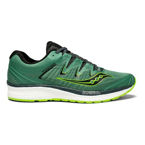 Mens Saucony Triumph ISO 4 Running Shoe - Green 11.5