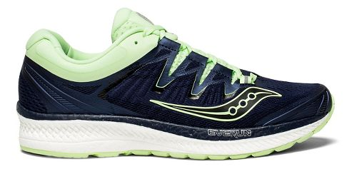 Womens Saucony Triumph ISO 4 Running Shoe - Navy/Mint 8