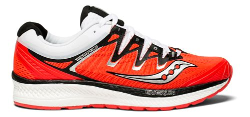 Womens Saucony Triumph ISO 4 Running Shoe - Red/Black/White 8