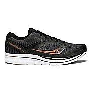 Mens Saucony Kinvara 9 Running Shoe - Black/Denim 8