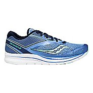 Womens Saucony Kinvara 9 Running Shoe - Blue/Teal 11