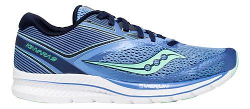 Womens Saucony Kinvara 9 Running Shoe - Blue/Teal 6