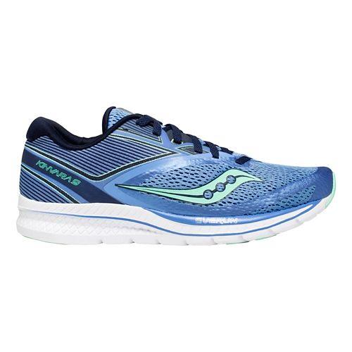 Womens Saucony Kinvara 9 Running Shoe - Blue/Teal 7