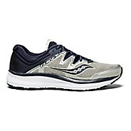 Mens Saucony Guide ISO Running Shoe - Grey/Navy 12