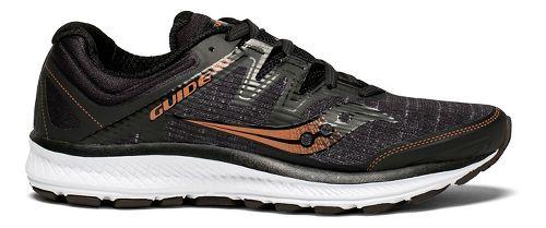 Womens Saucony Guide ISO Running Shoe - Black Denim 10