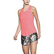 Womens Under Armour Threadborne Swyft Racer Sleeveless & Tank Technical Tops - Brilliance L