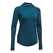Womens Under Armour Threadborne Streaker Half-Zips & Hoodies Technical Tops