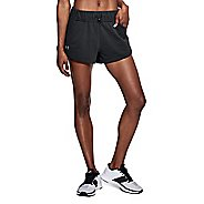 Womens Under Armour TB French Terry Unlined Shorts - Black M
