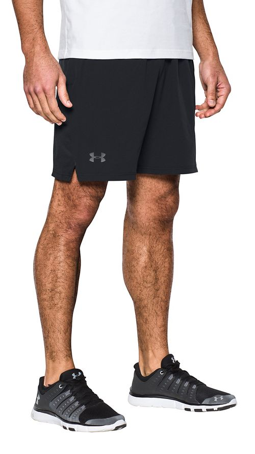 Mens Under Armour Cage Unlined Shorts - Black XXL