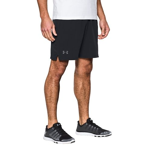 Mens Under Armour Cage Unlined Shorts - Black L