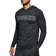 Mens Under Armour Sportstyle Core Half-Zips & Hoodies Technical Tops