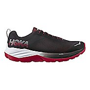 Mens Hoka One One Mach Running Shoe - Black/Red 9.5