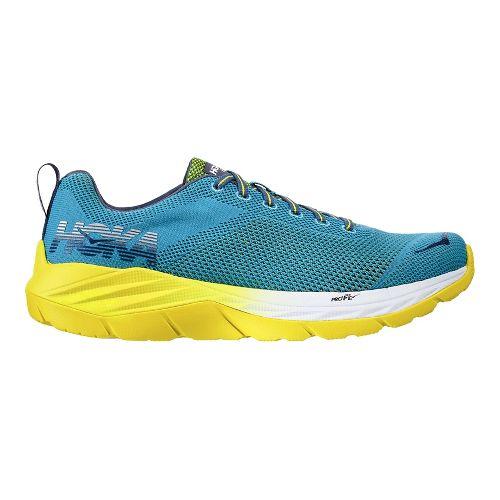 Mens Hoka One One Mach Running Shoe - Niagara/Sulpher 10.5