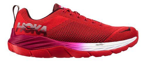 Womens Hoka One One Mach Running Shoe - Hibiscus/Cherry 11