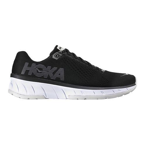 Mens Hoka One One Cavu Running Shoe - Black/White 14