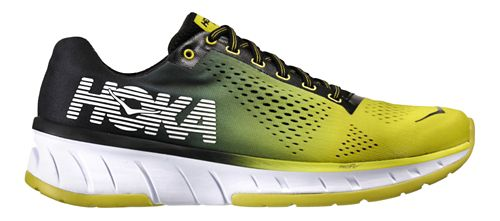 Mens Hoka One One Cavu Running Shoe - Sulphur/Anthracite 11