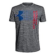 Under Armour Boys Crossfade Tee Short Sleeve Technical Tops