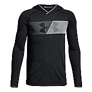 Under Armour Boys Threadborne Half-Zips & Hoodies Technical Tops