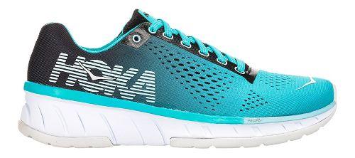 Womens Hoka One One Cavu Running Shoe - Turquoise/Black 7.5