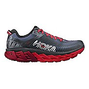 Mens Hoka One One Arahi 2 Running Shoe - Black/Red 11.5