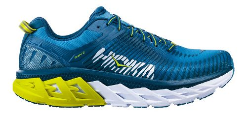 Mens Hoka One One Arahi 2 Running Shoe - Niagara/Midnight 12