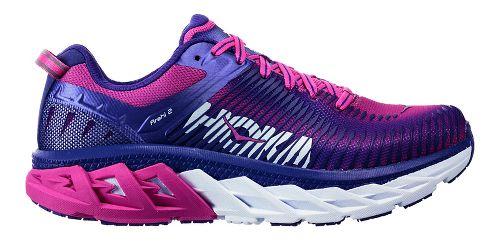 Womens Hoka One One Arahi 2 Running Shoe - Liberty/Fuchsia 9.5