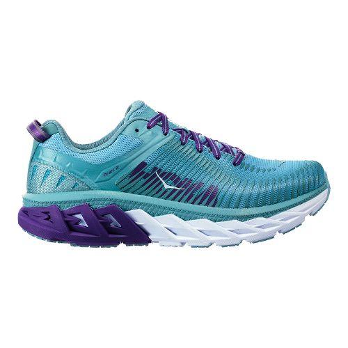 Womens Hoka One One Arahi 2 Running Shoe - Aquifer/Sea Angel 9