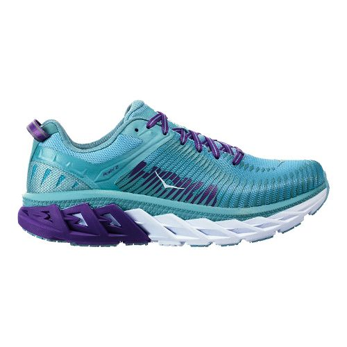 Womens Hoka One One Arahi 2 Running Shoe - Aquifer/Sea Angel 9.5
