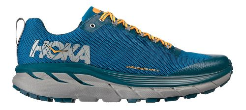 Mens Hoka One One Challenger ATR 4 Trail Running Shoe - Blue/Orange 9