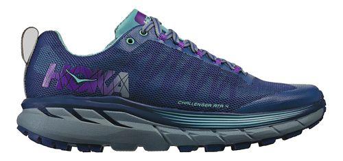 Womens Hoka One One Challenger ATR 4 Trail Running Shoe - Indigo/Aqua 11