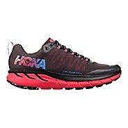 Womens Hoka One One Challenger ATR 4 Trail Running Shoe - Black/Azalea 6