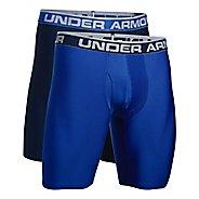 "Mens Under Armour O Series 9"" Boxer Jock 2 pack Boxer Brief Underwear Bottoms"