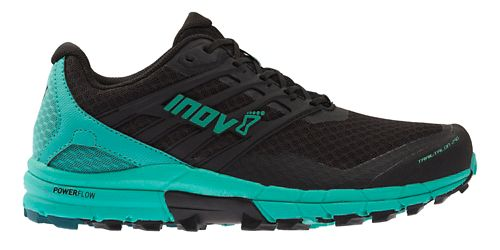 Womens Inov-8 TrailTalon 290 Trail Running Shoe - Black/Teal 10.5