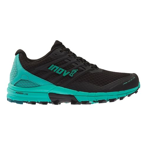 Womens Inov-8 TrailTalon 290 Trail Running Shoe - Black/Teal 10.5