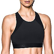 Womens Under Armour Breathelux Fashion Mid Sports Bras - Black XS
