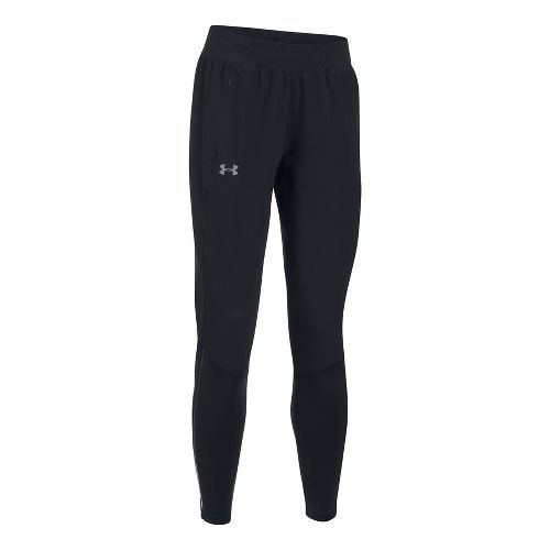 Womens Under Armour Pick Up The Pace Hybrid Pants - Black XS